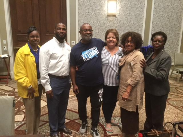 S Spears- meeting Mr. Stallworth- author, The Black Klansman and President's Luncheon Speaker